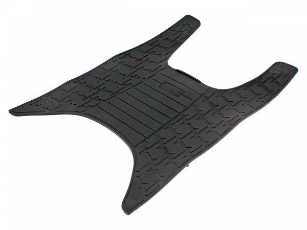 Gummimåtte ved fodplade, sort