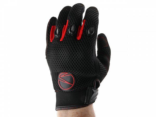 Handsker - Steev MX V2 - sort/rød
