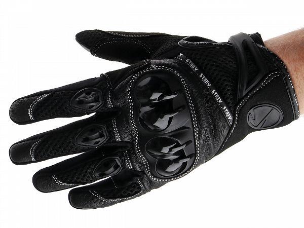 Handsker - Steev Superbike - sort