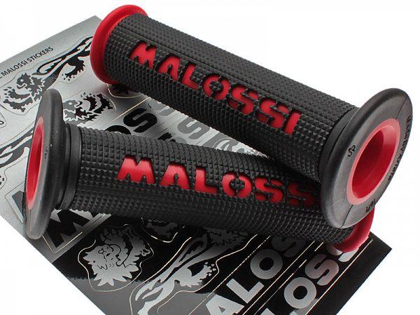 Håndtag - Malossi sort/rød