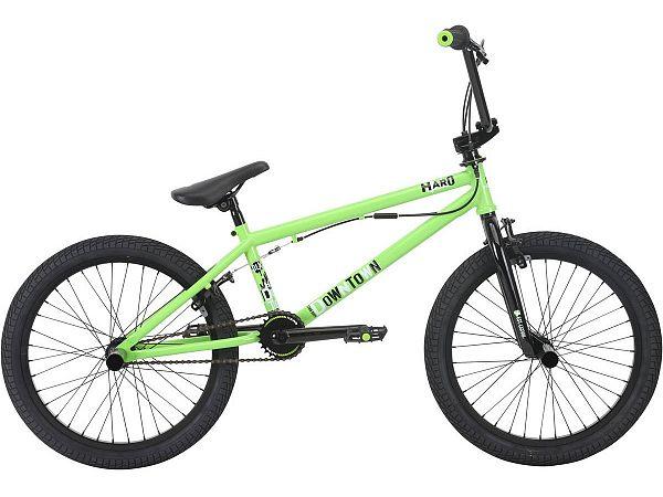 """HARO Downtown DLX 20.3"""" grøn - Freestyle BMX - 2018"""