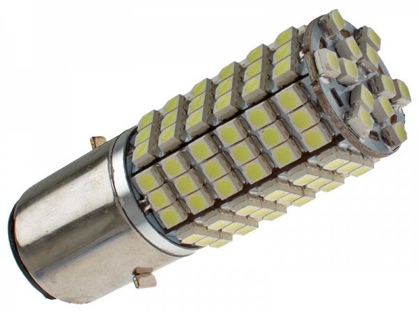 Headlight bulb - BA20D SMD LED 12V, 3W