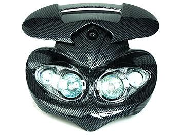 Headlight - TNT, carbon