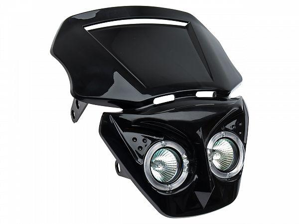 Headlight - TNT Transformer - black