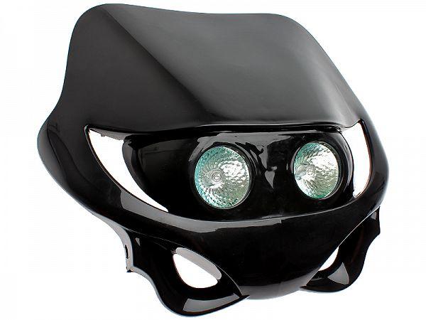 Headlight - TunR Oriz, black