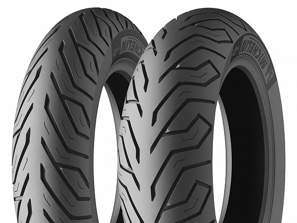 "Helårsdæk - Michelin City Grip - 12"", 120/70-12 51P GT"