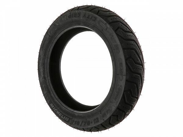 Helårsdæk - Michelin City Grip 2, 110/70-12