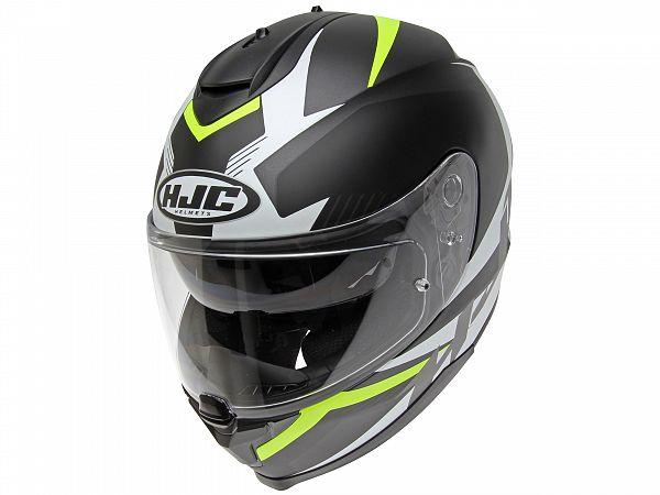 Helmet - HJC C70 Troky, black / fluo yellow