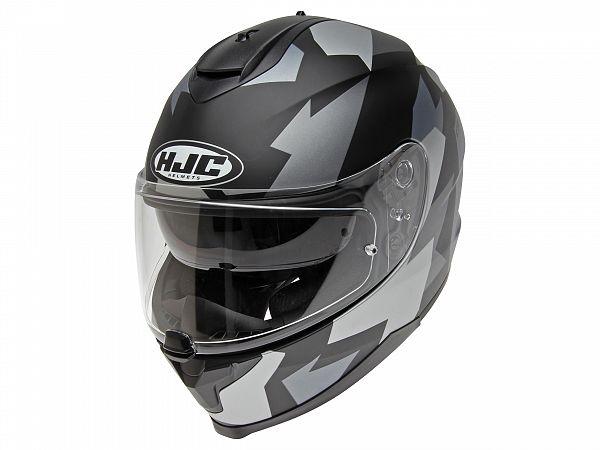 Helmet - HJC C70 Valon, black / gray
