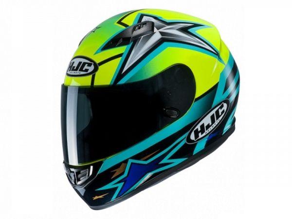 Helmet - HJC CS15 MC4H, Toni Elias 24