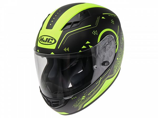 Helmet - HJC CS15 Safa black / fluo yellow, medium