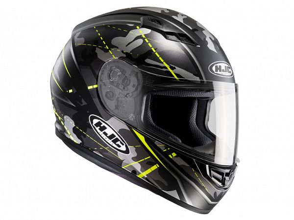 Helmet - HJC CS15 Songtan, camo yellow