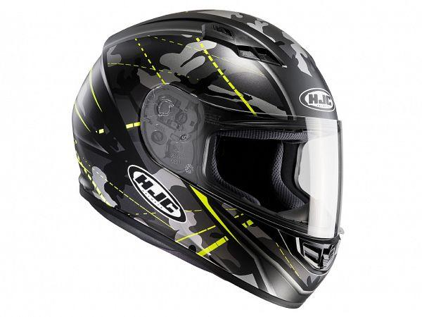 Helmet - HJC CS15 Songtan, camo yellow