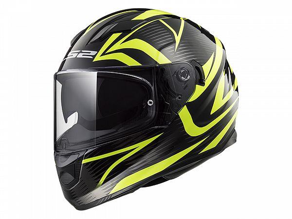 Helmet - LS2 FF320 Stream Evo Jink, yellow / matte black, x-large