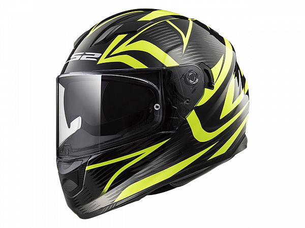 Helmet - LS2 FF320 Stream Evo Jink, yellow / matte black