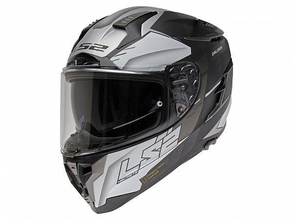 Helmet - LS2 FF327 Challenger Allert, matt black / white