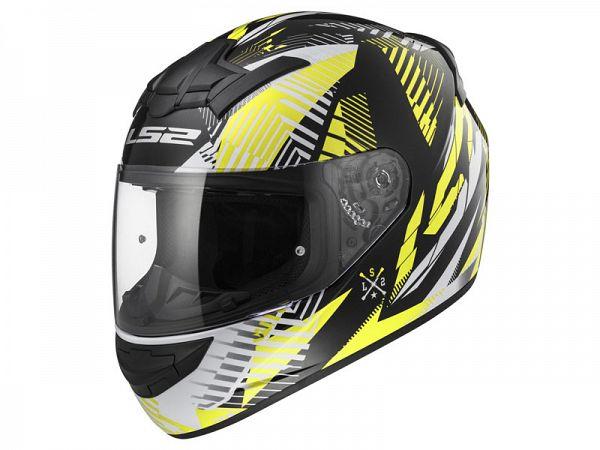 Helmet - LS2 FF352 Rookie Infinite, yellow
