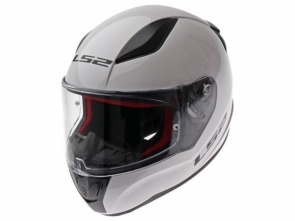 Helmet - LS2 FF353 Rapid Single Mono white - incl. optional visor