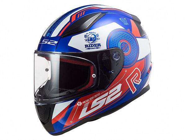 Helmet - LS2 FF353 Rapid Stratus, blue / red