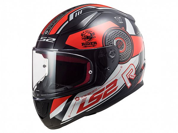 Helmet - LS2 FF353 Rapid Stratus, red / black