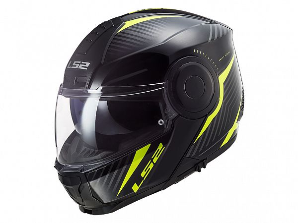 Helmet - LS2 FF902 Scope Skid, matte black / fluo yellow
