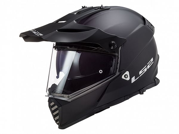 Helmet - LS2 MX436 Pioneer Evo Solid, matte black