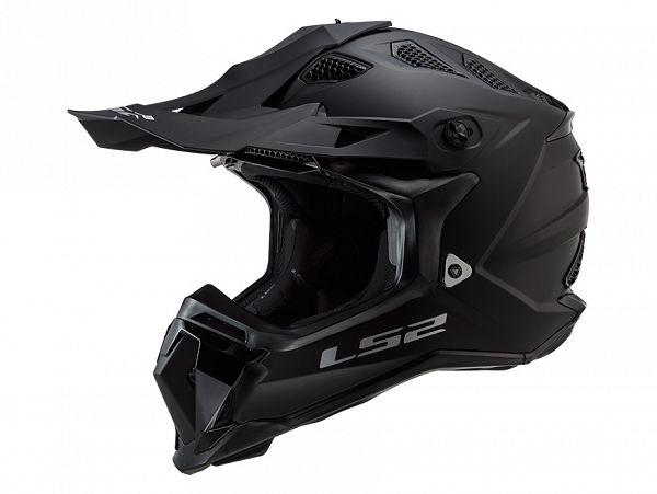 Helmet - LS2 MX470 Subverter Noir, matte black