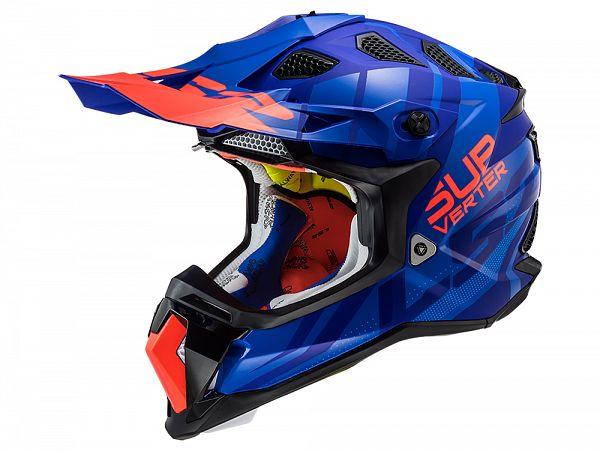 Helmet - LS2 MX470 Subverter Troop, matte blue / purple / orange