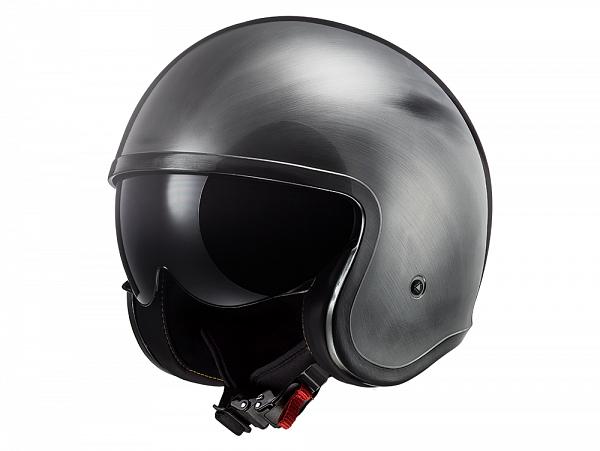 Helmet - LS2 OF599 Spitfire Jeans, titanium