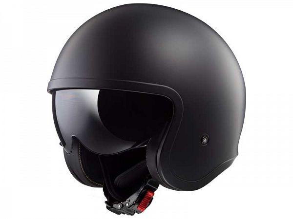 Helmet - LS2 OF599 Spitfire Single Mono, matte black