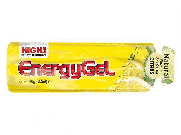 High5 EnergyGel Citrus Burst, 40g