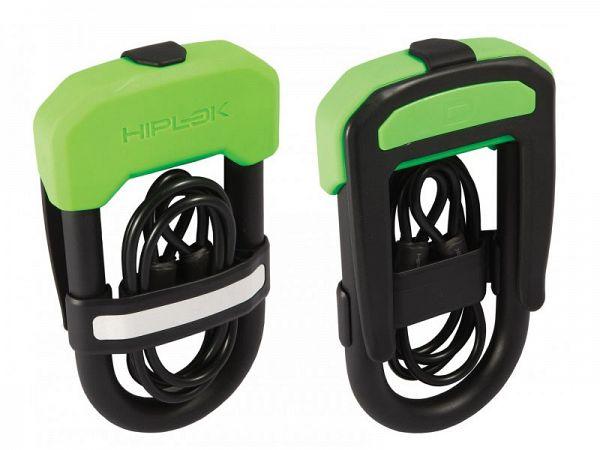 Hiplok DC Bøjlelås, neon grøn