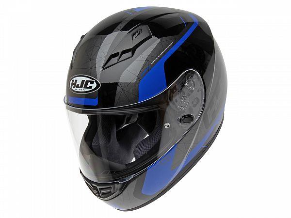 Hjälm - HJC CS15 Dosta, svart / blå