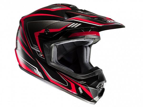 Hjelm - HJC CSMX II Edge rød, large