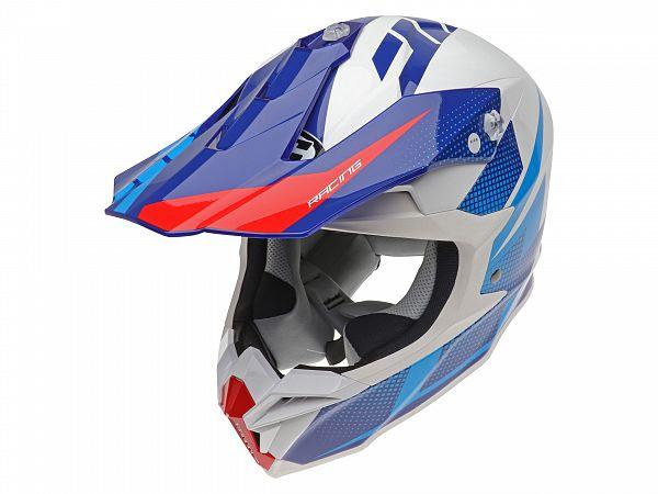 Hjelm - HJC i50 Argos, blå/hvid