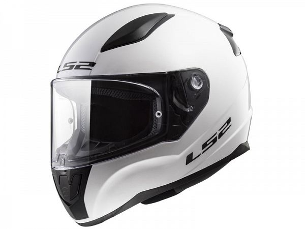 Hjelm - LS2 FF353 Rapid Single Mono, hvid