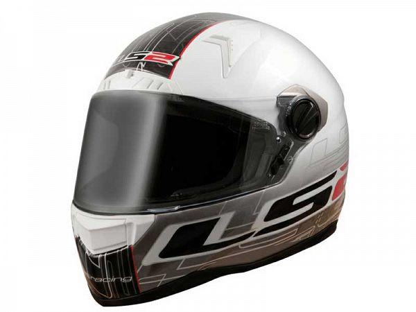 Hjelm - LS2 FF385 CR1 Racing, x-large