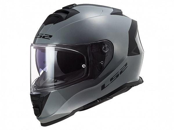 Hjelm - LS2 FF800 Storm Solid, nardogrå
