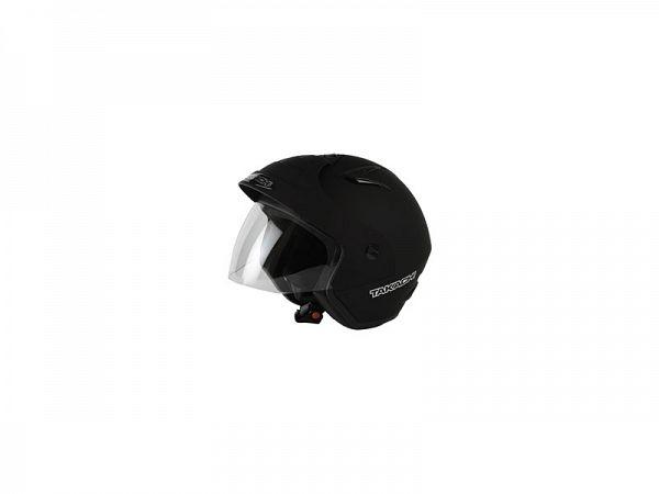 Hjelm - Takachi TK10 med visir, matsort