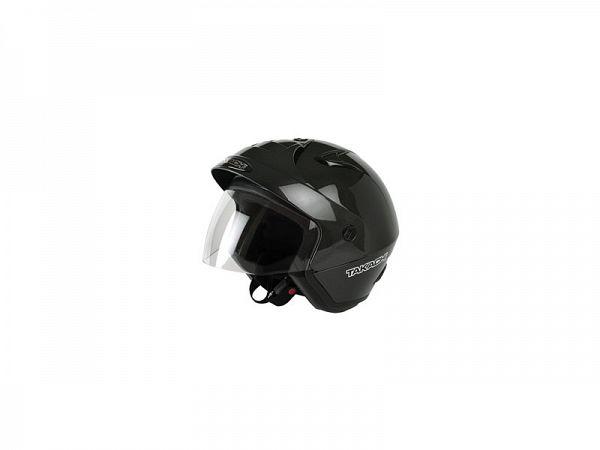 Hjelm - Takachi TK10 med visir, sort