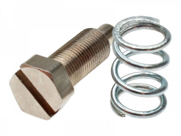 Idle screw incl. spring for Polini CP 21/23 / 24mm