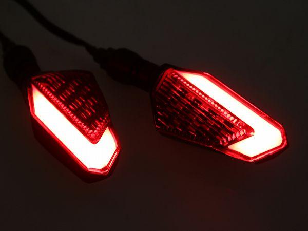 Indicators - Spirit Beast L16 LED DRL, red