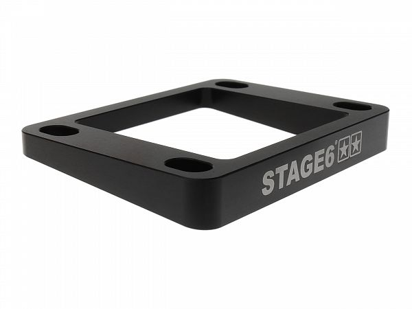Indsugningsspacer - Stage6, 5mm/5° - sort
