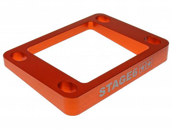 Intake spacer - Stage6, 5mm / 5 ° - orange