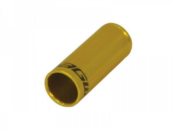 Jagwire Alu Guld Yderkabelende, 5mm