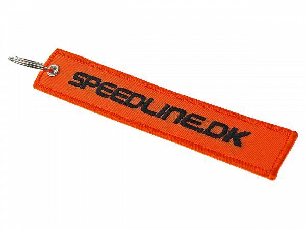 Keyhanger med broderi - Speedline.dk