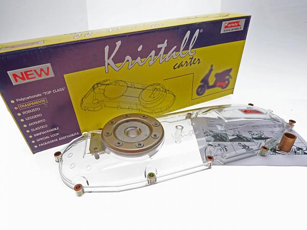 Kickstart shield - Ariete Kristall - transparent