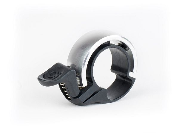 Knog Oi Classic Silver Ringeklokke, Small