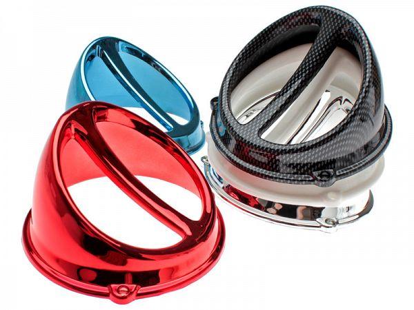 Koelere spoiler voor ventilatorschild