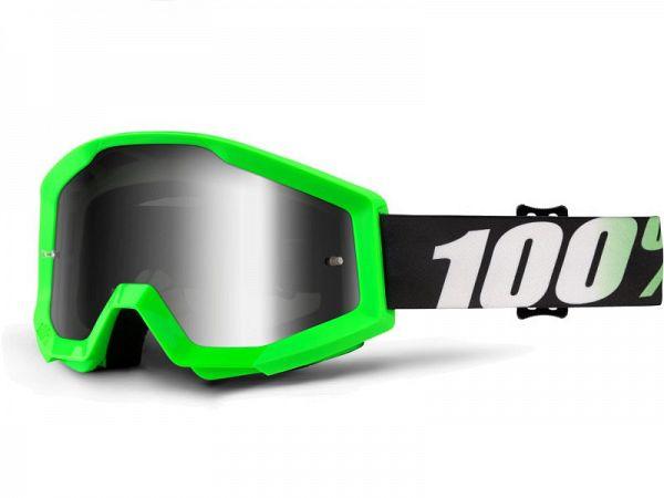 Korsglasögon - 100% strata Arkon, spegel silverlins
